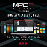 AKAI Professional MPC Software v2.5.0
