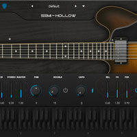 Ample Guitar Semi Hollow v3.1