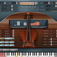 Audio Modelling SWAM Engine - SWAM Cello v2.0.1