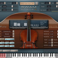 Audio Modelling SWAM Engine - SWAM Violin v2.0.1