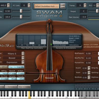 Audio Modelling SWAM Engine - Double Bass v2.0.1