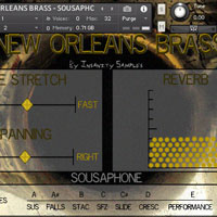 Insanity Samples New Orleans Brass