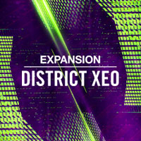 Native Instruments Expansion - District Xeo