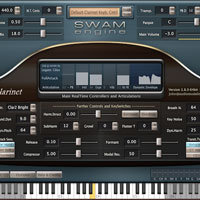 Audio Modelling SWAM Engine - SWAM Clarinets 2.8.1