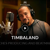 Timbaland Teaches Producing and Beatmaking