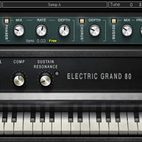 Waves Electric Grand 80 Piano Library