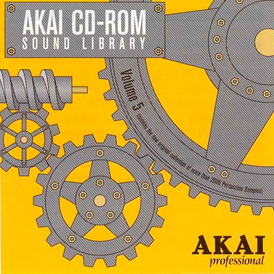 Akai Sound Library Volume 5 Cover 1