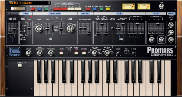 Roland PROMARS v1 0 2 Plug Out Synth